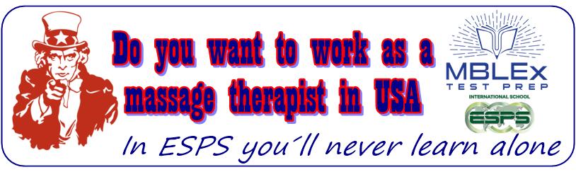 Cursos de masaje para trabajar en Estados unidos